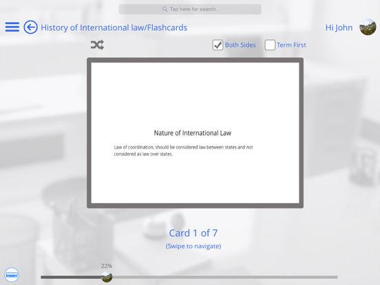 US Law for iPhone iPad Screenshot 3