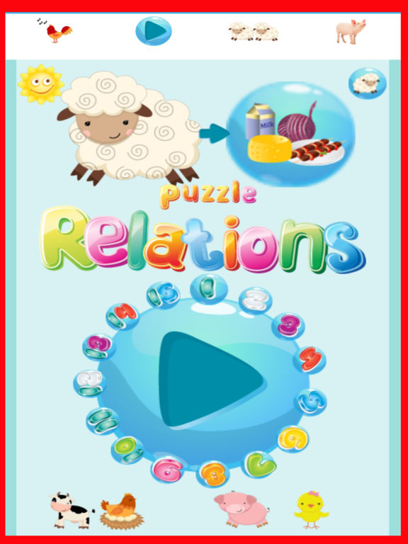 App Shopper: Farm Animals For Toddlers Sounds & Puzzle ...