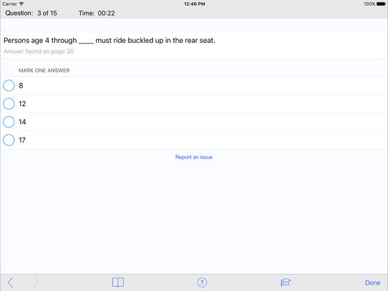 DMV Test Prep - Hawaii iPad Screenshot 3
