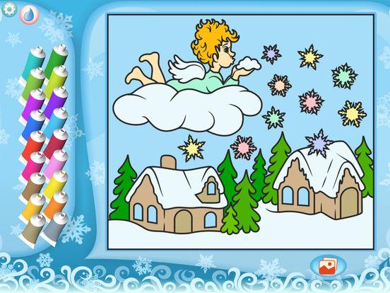 Раскрась по номерам – Рождество - Бесплатно