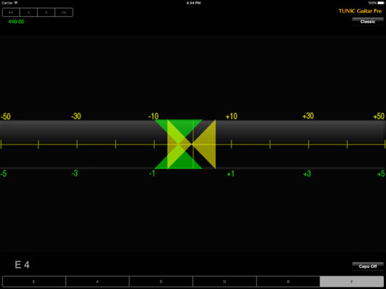 Tunic Guitar Pro iPad Screenshot 1