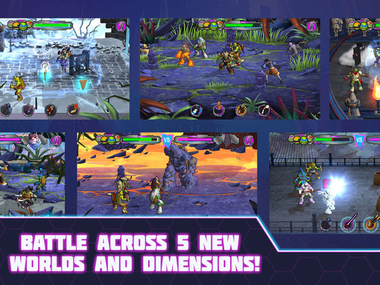 Screenshots of Teenage Mutant Ninja Turtles: Portal Power for iPad