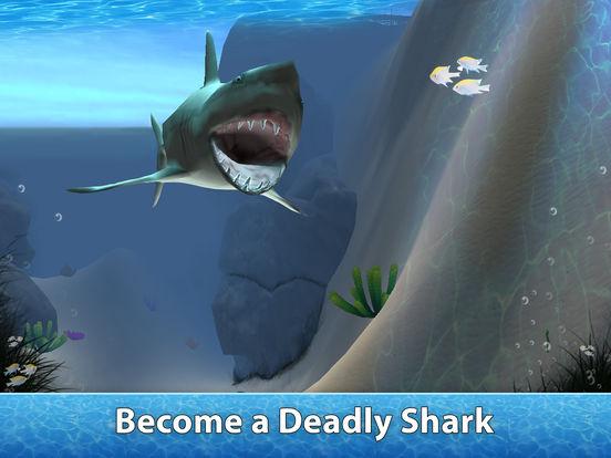 Sea Shark Survival Simulator 3D Full screenshot 7