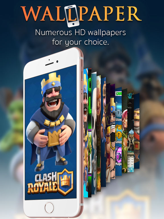 Wallpapers for Clash Royale - Customizable Backgrounds For Home & Lock ...