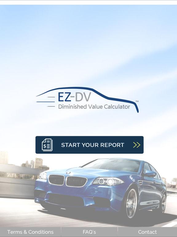 App Shopper EZ DV Diminished Value Calculator Lifestyle