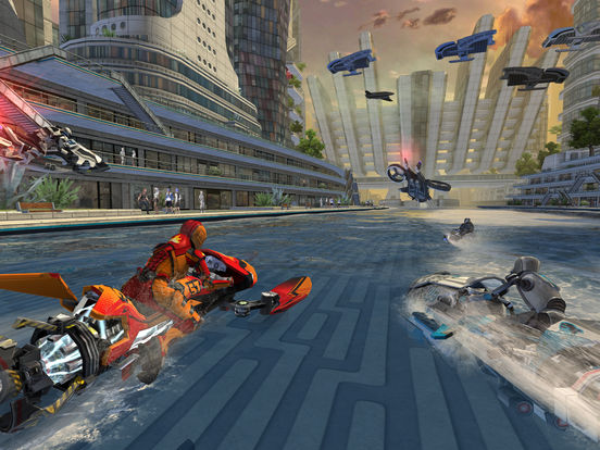 Hydrojet Racing Game Riptide GP: Renegade For iOS/TV Has First Price Drop