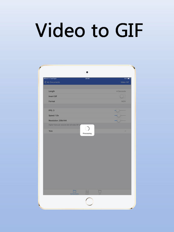 InstaGIF creator - Video to GIF Screenshots