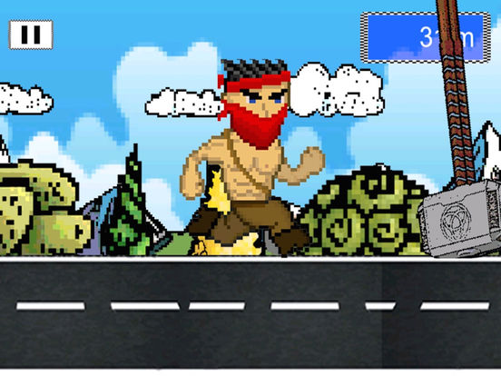Man Amok Run-ipad-1