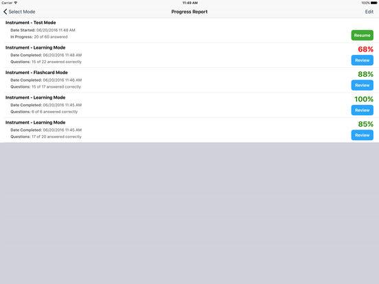 Study Buddy Test Prep (FAA Instrument Pilot) iPad Screenshot 5