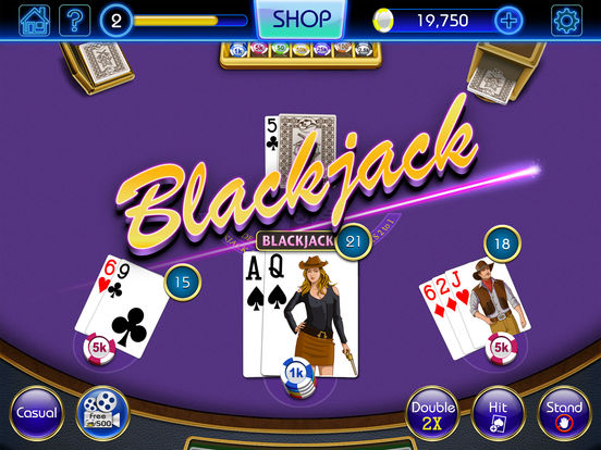 Blackjack 21 - FREE Las Vegas Casino Blackjack screenshot