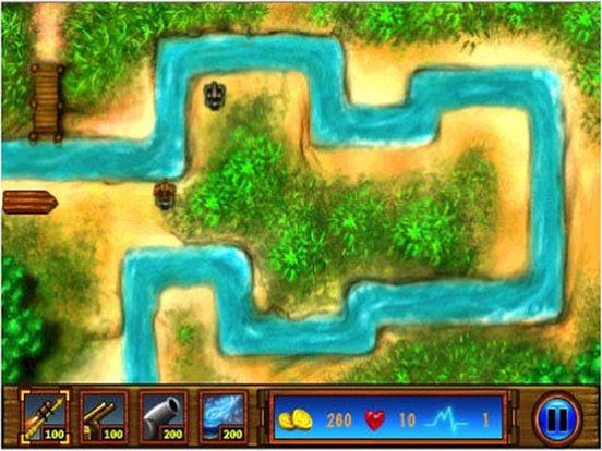 Big River Defender Lite iPad Screenshot 1