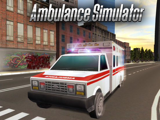 Ambulance Driving Simulator 3D Full screenshot 5