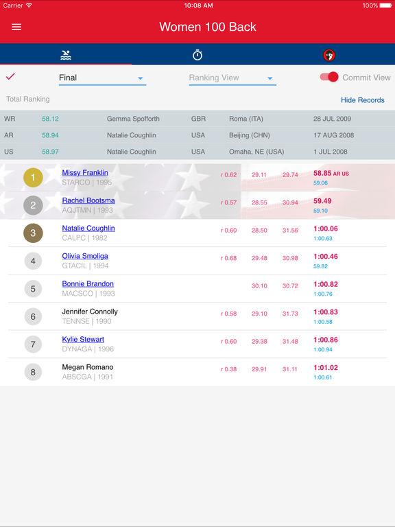 2016 US Swimming Trials screenshot 7