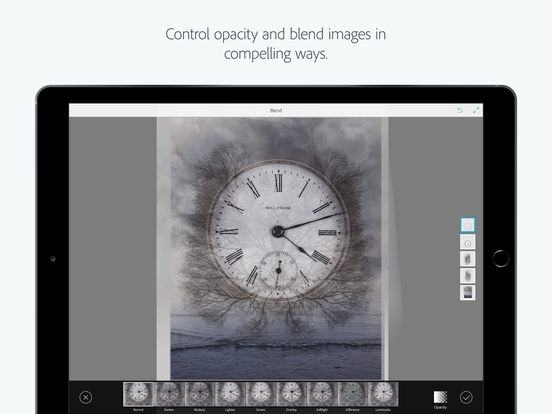 Adobe Photoshop Mix: edit, cut and combine your photos with fun, creative tools screenshot