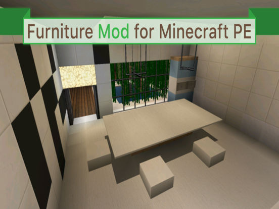 Furniture For Minecraft Pe Pocket Edition Available For Minecraft Pc Too On The App Store