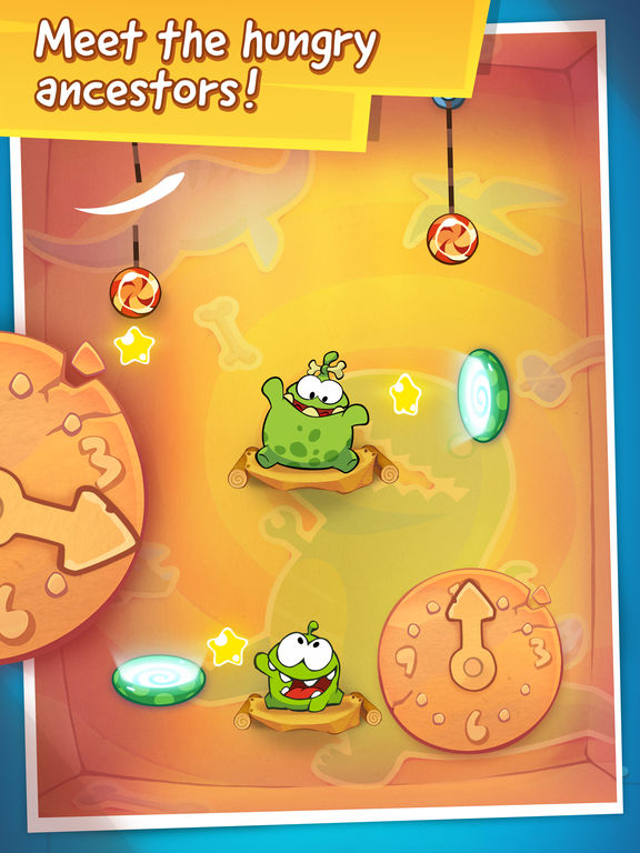 Screenshot #2 for Cut the Rope: Time Travel Free