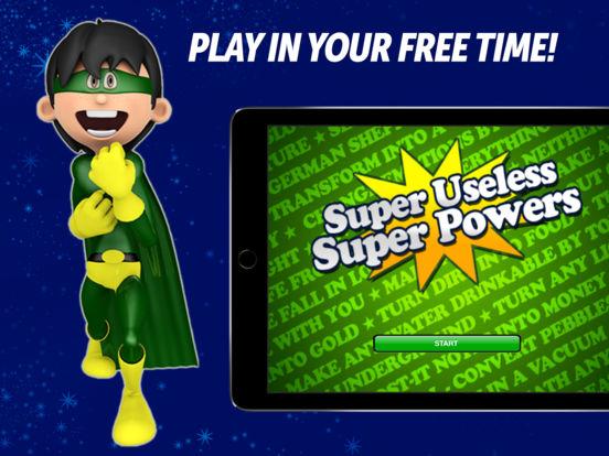 Super Useless Super Powers - Party Game iPad Screenshot 1