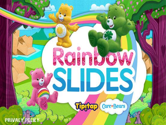 Rainbow Slides: Care Bears!screeshot 1
