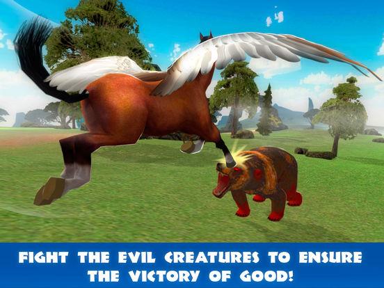 Pegasus Survival Simulator 3D Full screenshot 7