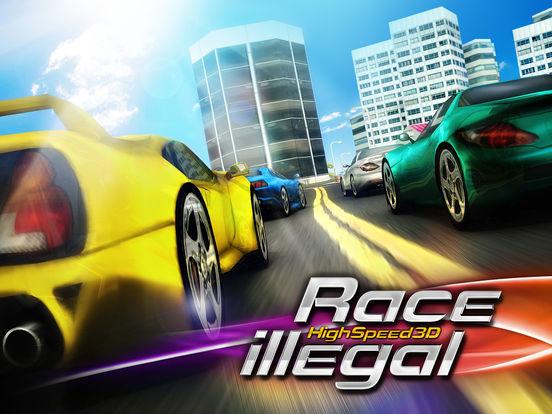 Race Illegal: High Speed 3D Free на iPad