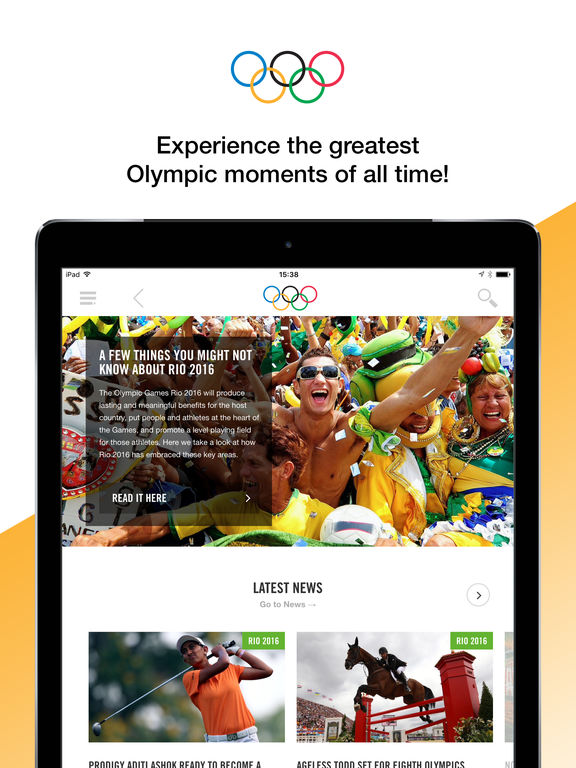 sc1024x768 8 apps for iPhone, iPad to Watch the Olympic Games Rio 2016