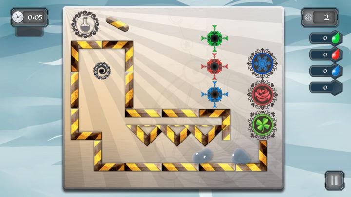 Liquid Pinball - realistic physics game for Apple TV Image