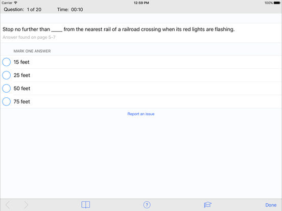 DMV Test Prep - Oklahoma iPad Screenshot 3