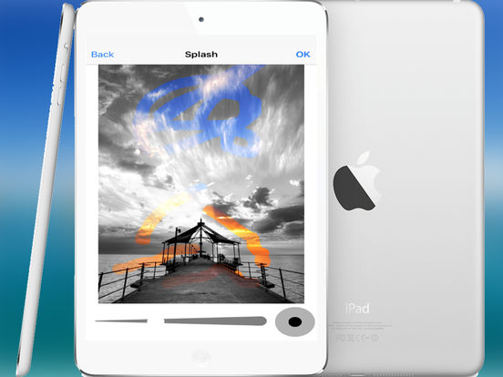 #3. Photo Editor: Retouch Gallery/Camera Images with amazing filter effects and Save or Share it. (iOS)