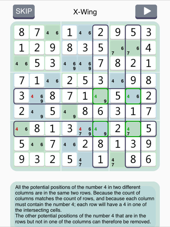 Sudoku Institute - show solving techniques step by step Screenshots