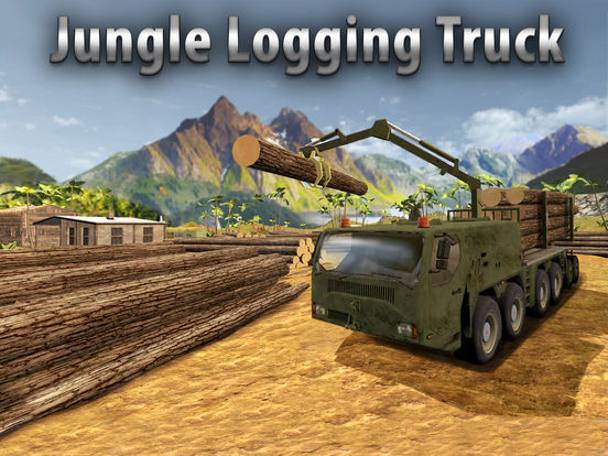 Jungle Logging Truck Simulator 3D Full Screenshots