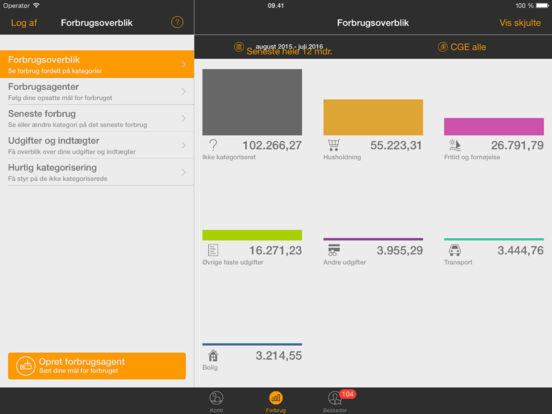 Swedbank DK iPad Screenshot 2