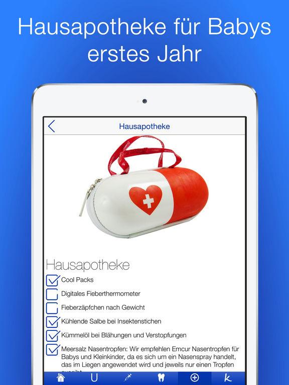 Baby Gesundheit Checklisten PRO Screenshots