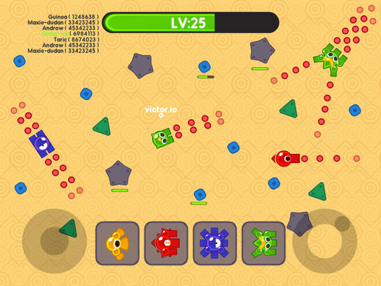 Screenshots of Tank.io War - Multiplayer Mobile Online Games for iPad