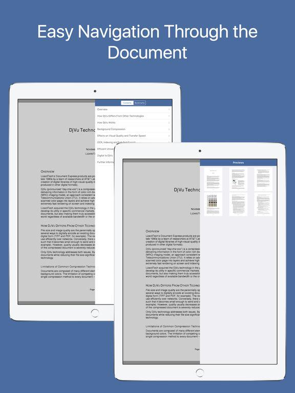DjVu Reader Pro. Скрин 2
