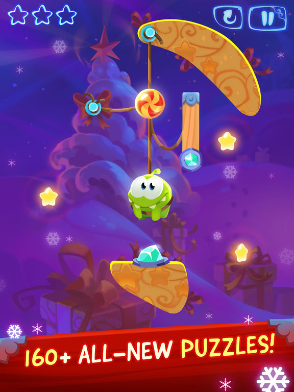 Cut The Rope: Magic For iOS Goes Free For The First Time