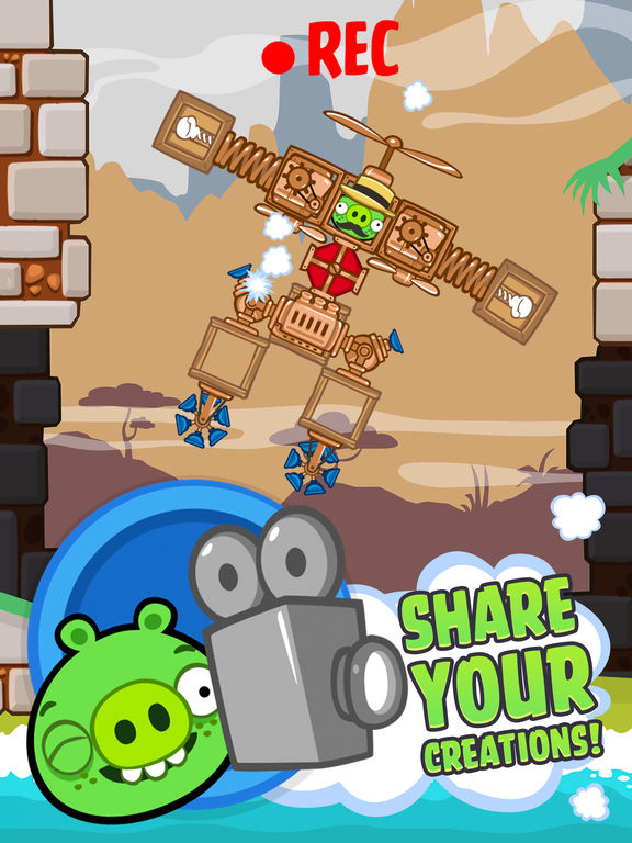 Screenshot #5 for Bad Piggies HD