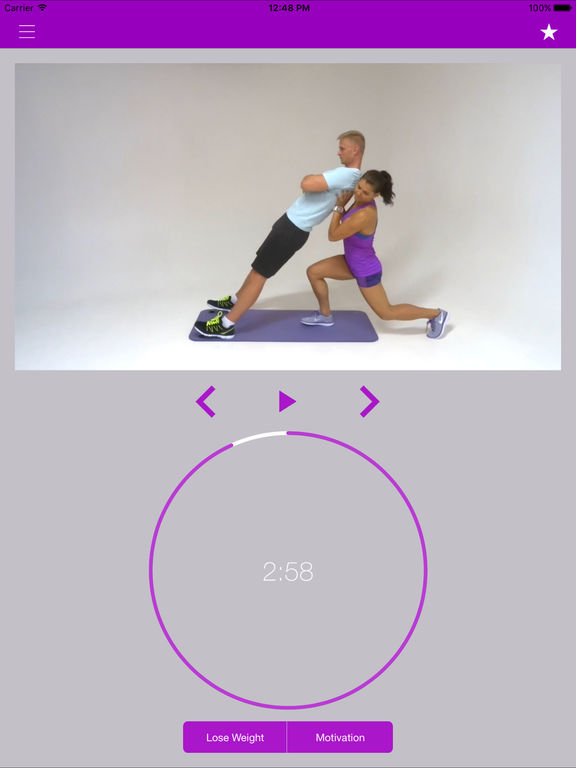 Partner Exercises & The Buddy Workout Routine Screenshots