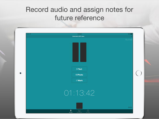 Smart Record - Audio Voice Recorder with Notes & Transcription Service - Transcribe Recording Fast and Accurate screenshot