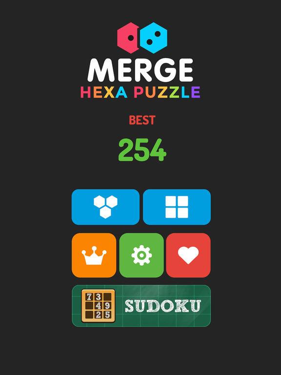 Merge Hexa Puzzle - Merged Block & Sudoku Questscreeshot 2