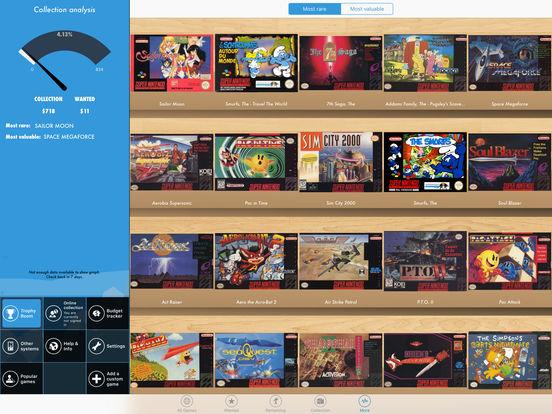 SNES Collector iPad Screenshot 2