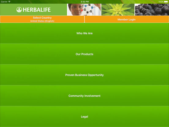 HLMobile + iPad Screenshot 1