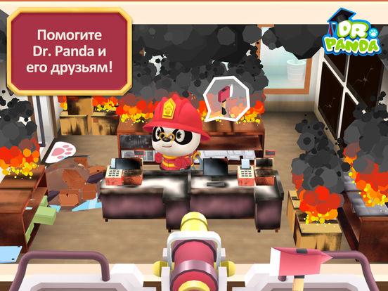 Пожарная команда Dr. Panda на iPad