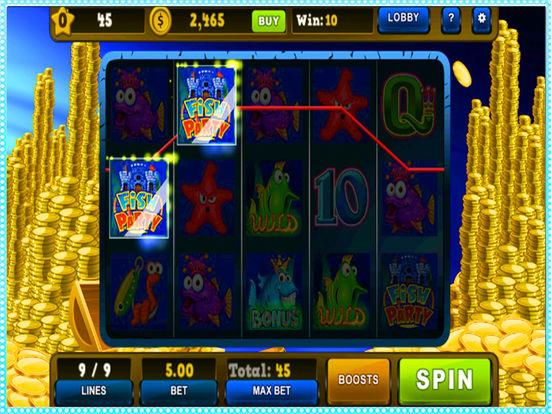 Divers king of ocean slot machine