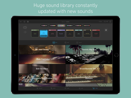 Blocs Wave - Make & Record Music Screenshots