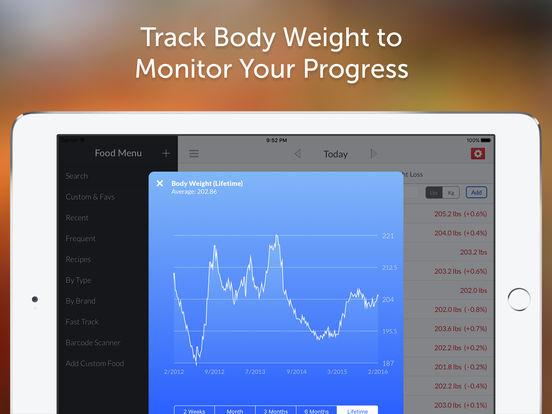 My Macros+ Diet, Weight and Calorie Tracker screenshot