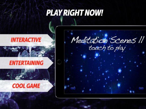 Meditation Scenes II - Video Relax Pack iPad Screenshot 1