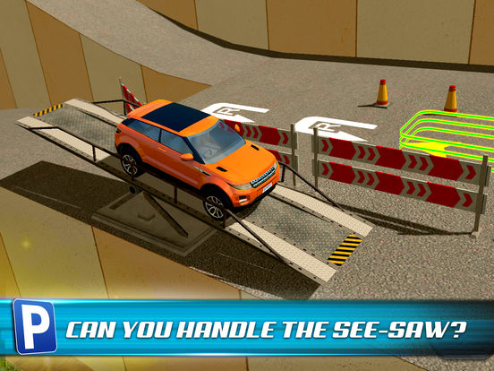 Obstacle Course Extreme Car Parking Simulator screenshot 9