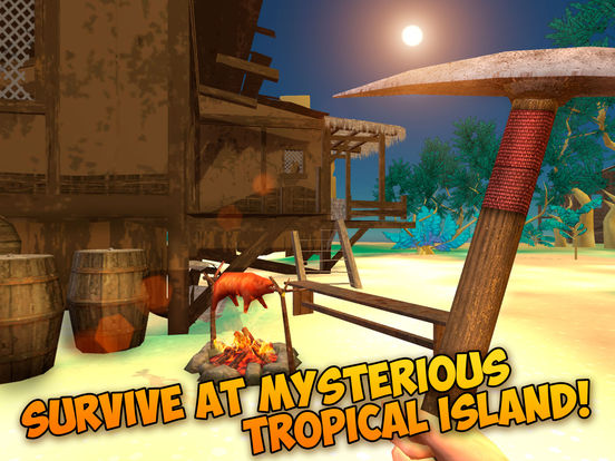 Pixel Tropical Island Survival 3D Full Screenshots