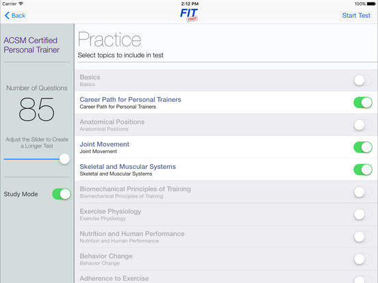 Free ACSM Personal Trainer Practice Test - Test Prep Review