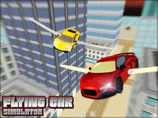 app shopper flying car sim 3d games. Black Bedroom Furniture Sets. Home Design Ideas